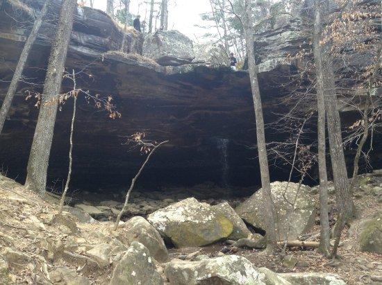 Huntsville, AR: Glory Hole from a distance