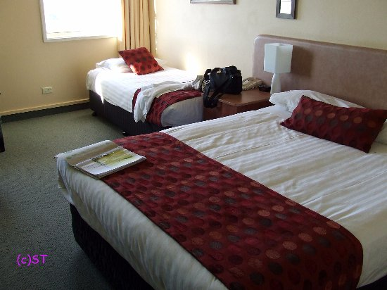 Comfort Inn Coach House: double and single bed