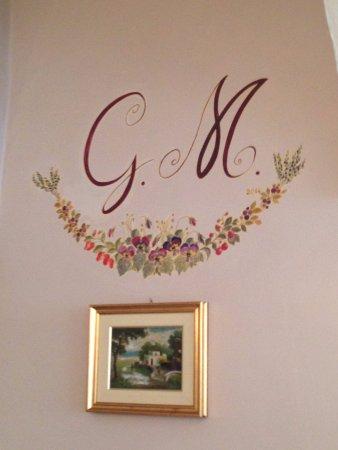 Ristorante Caminetto: decorazione interna sala 2