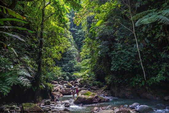 Casaroro Falls: It takes around 15 minutes to hike to the falls