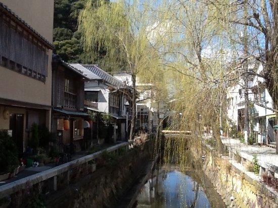Shimoda, Japan: 白壁の古民家もありなかなかの風情です