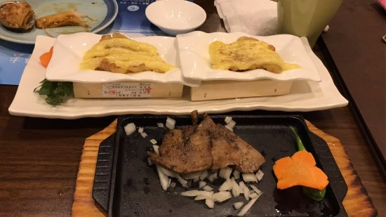 Kitaya Japanese Restaurant: Grilled Fish and Cheese/Ox Tongue