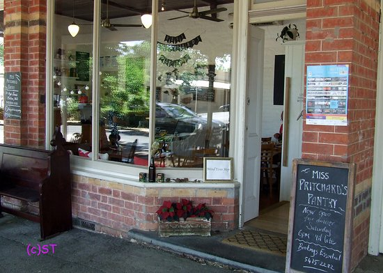 Maldon, Australia: The Cafe