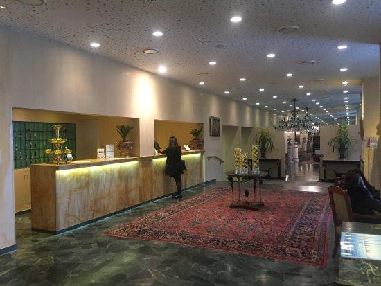 Reception Picture Of Grand Hotel Del Mare Resort Spa