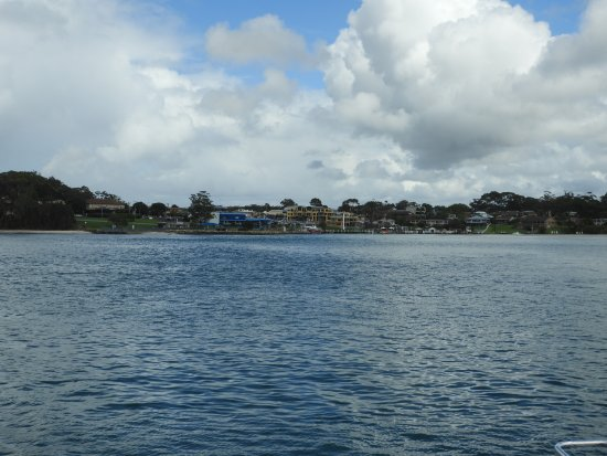 Huskisson, Australia: View of Shore from boat