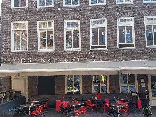 Brasserie de Brakke Grond: lovely place centre of Amsterdam