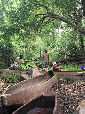 Guma Lagoon Camp: Mokoro trip through the swamps