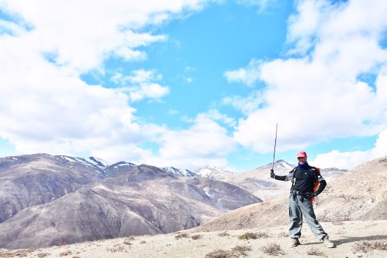 The barren land in Dolpo, Nepal. Great views; heaven for trekkers!