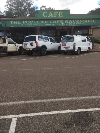 Ravenshoe, Australia: Popular Cafe