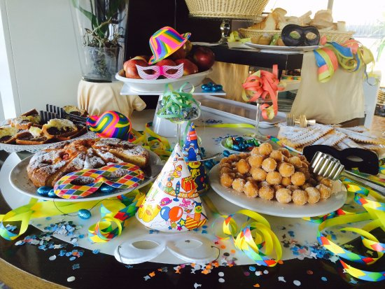 Idea Hotel Roma Nomentana: A funny and scary way for children to have their Carnival breakfast!