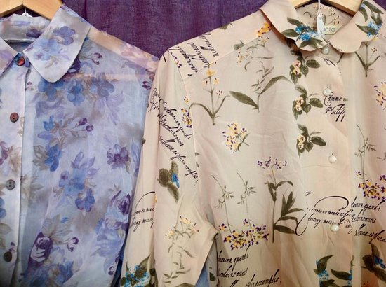 Records and Relics: Lots of lovely patterned vintage shirts