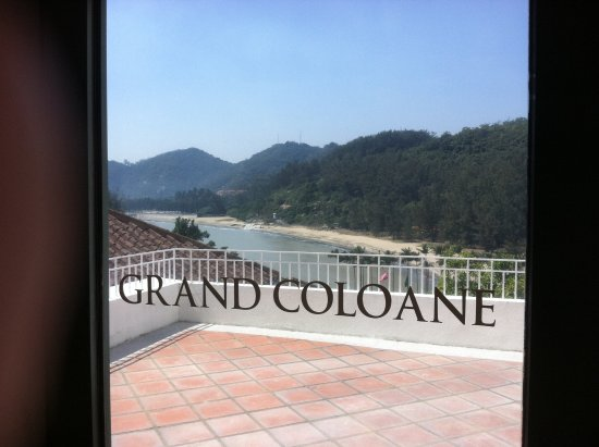 Grand Coloane Resort Macau: Beach View from the Complex
