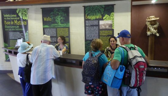 Arue, Fransk Polynesia: Check-in was hectic and disorganized