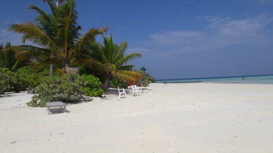 Atolón sur de Malé: il punto piu bello della spiaggia