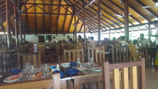Atolón sur de Malé: ristorante ok