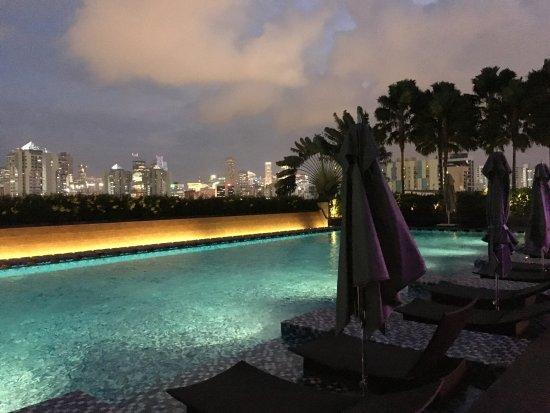One Farrer Hotel & Spa: 6th floor pool. HUGE, loved it