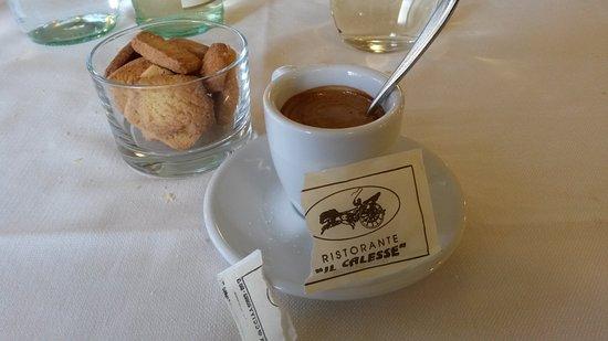 Il Calesse: un ottimo caffè con biscottini fine pasto