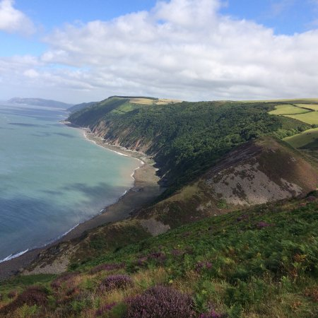 Brendon, UK: The coast near to Millslade