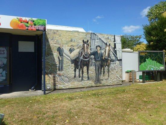 Katikati, Новая Зеландия: Lovely paintings