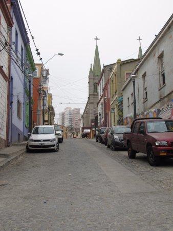 Ruta Valparaiso - Private Tours: calle de Valparaiso