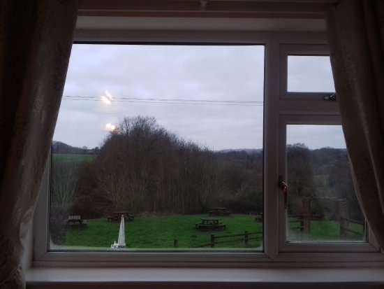 Much Wenlock, UK: view from room 4