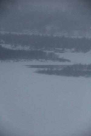 Нижегородская канатная дорога: зимняя канатка