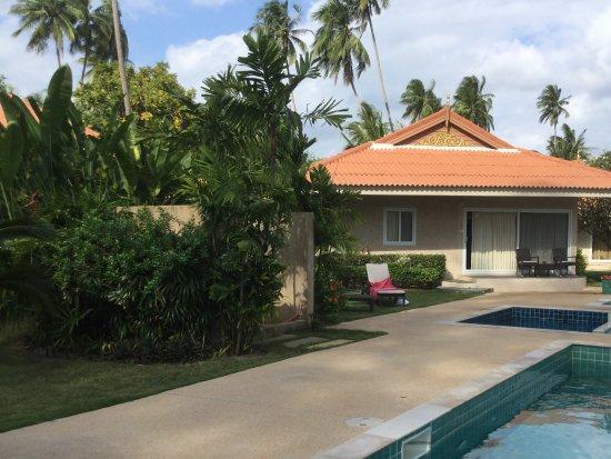 Lipa Noi, Ταϊλάνδη: This family villa was closest to the pool