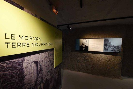 Alligny en Morvan, Francia: une muséographie vivante pour comprendre les enjeux du Morvan, terre nourricière