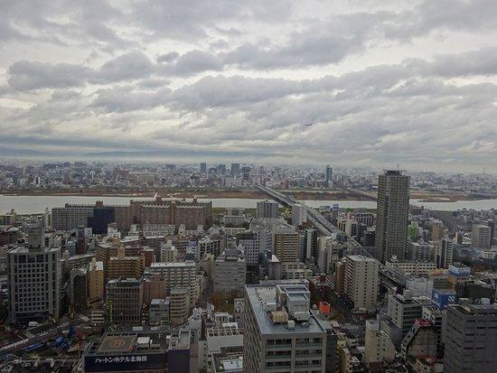 Hotel Hankyu International: とても眺めがいいです