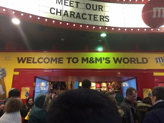 M&M's World: Entrada