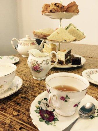 Cafe Africa serves cream tea