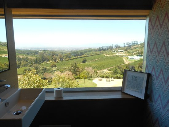 Constantia, Sudáfrica: Loo with a view...