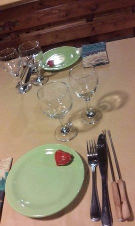 Fondue en San Javier : mesa para dos!!!