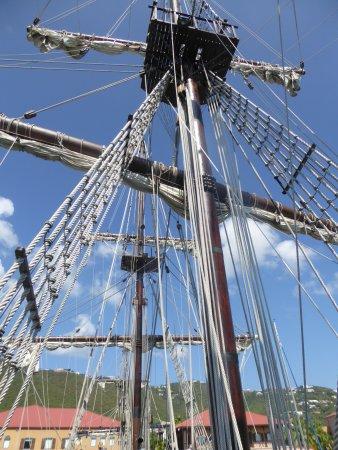 Masts of El Galeon