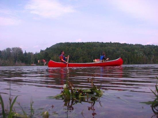 St-Donat de Rimouski, Kanada: Location canot