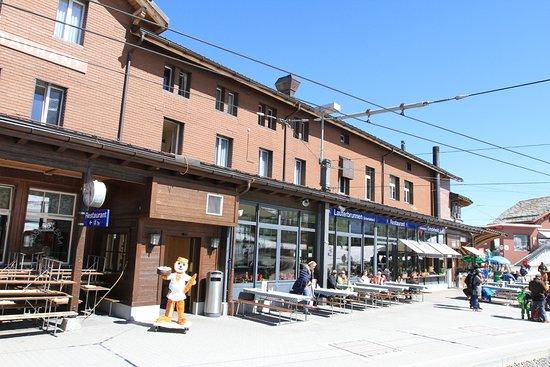 RESTAURANT BAHNHOF KLEINE SCHEIDEGG: Restaurante!