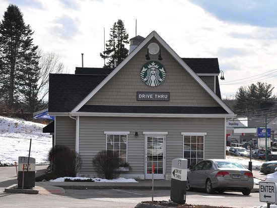 Starbucks, East Lyme, CT - Exterior