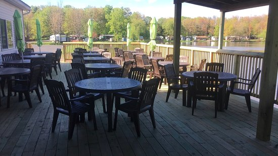 Colden, NY: Wonderful Outside Dining Area
