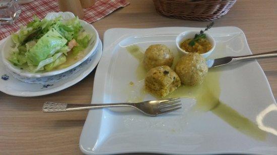 Hinterstoder, Austria: Delicious pumpkin balls