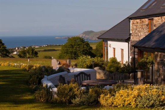 Aberporth, UK: View from Penlan Coastal Cottages