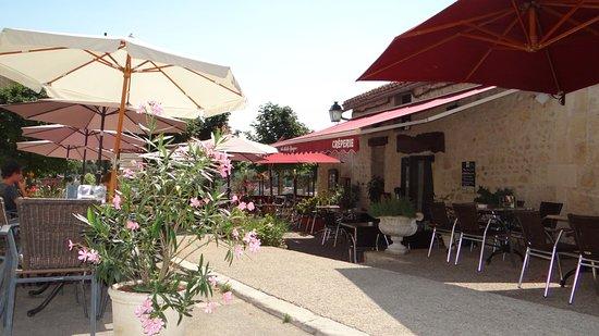 Chauvigny, Francia: Terrasse