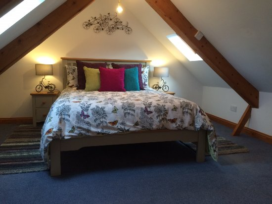 Aberporth, UK: bedroom in Swallows Nest