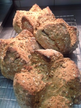 Market Drayton, UK: Home made soda bread