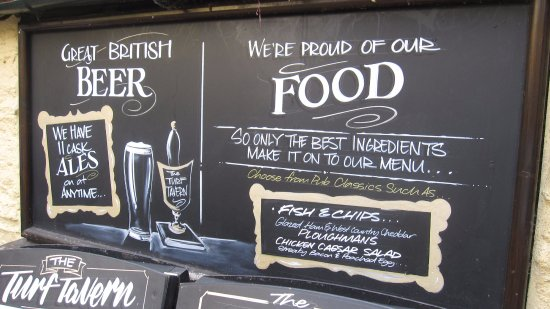 Worcestershire, UK: Chalkboard