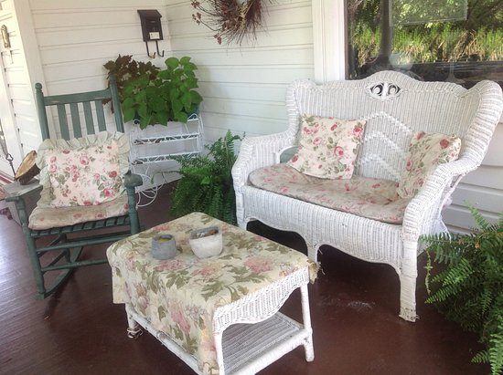 Berkeley Springs, Virginia Occidental: Front porch