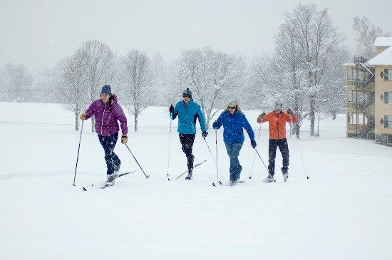 Ripton, Vermont: Carpe skiem!