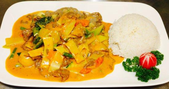 Waghausel, Jerman: Probieren Sie unsere Curry Gerichte!