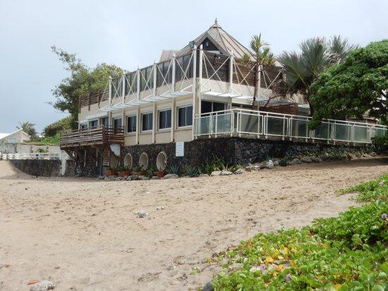 Alize Plage: hotel vu de la plage