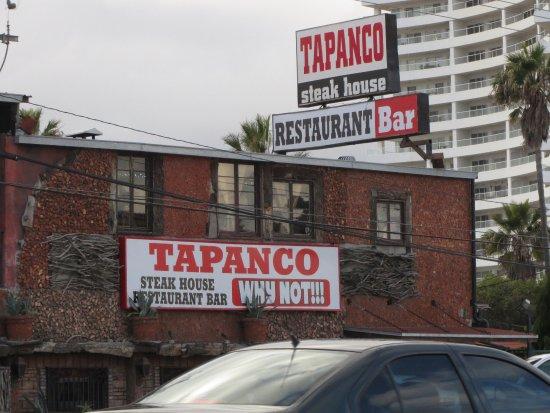 Tapanco: It's between the Rosarito Beach Hotel and Fox Studios