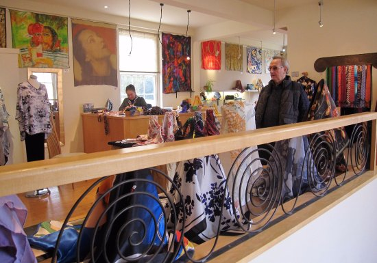 Beckford, UK: shop